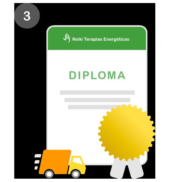 Paso 3 - Obtén tu diploma